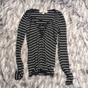 UO lace up top